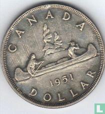 Canada 1 dollar 1951