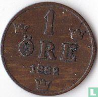 Zweden 1 öre 1882