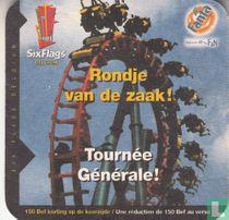 Six Flags Belgium - Rondje van de zaak!