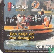 Six Flags Belgium - Een natje en een droogje?