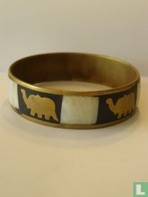 Armband met olifant