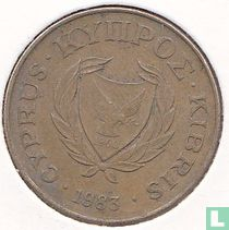 Chypre 10 cents 1983