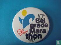 10e Belgrade Marathon 1997 (wit)