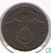 Duitse Rijk 1 reichspfennig 1937 (G)