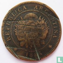 Argentinië 1 centavo 1884