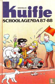 Weekblad Kuifje schoolagenda 87-88