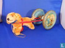 Dogcart bell toy