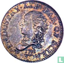 United States 5 cents 1792