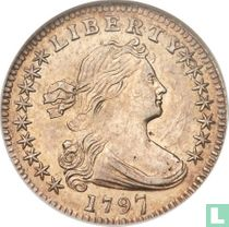 United States ½ dime 1797 (16 stars)