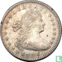 United States ½ dime 1796 (1796/5)