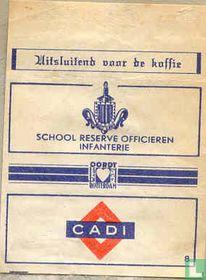 School Reserve Officieren Infantrie