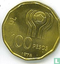 """Argentina 100 pesos 1978 """"Football World Cup in Argentina"""""""