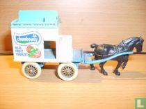 Horse drawn Milk Float 'Chambourcy'