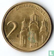 Servië 2 dinara 2006