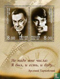 Father and son Tarkovsky