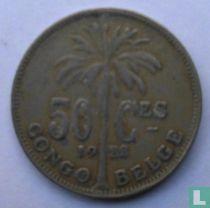 Belgisch-Kongo 50 centimes 1922 (franstalig)
