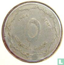 Algerien 5 centimes 1964 (year 1383)