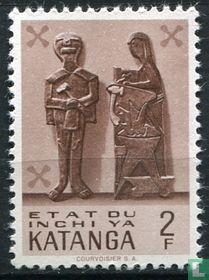 Katanga traditionelle Kunst