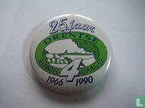 25 jaar Drentse Rijwiel4daagse 1966 1990