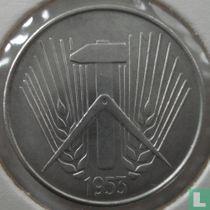 DDR 10 pfennig 1953 (A)