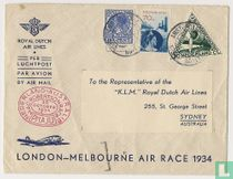 London-Melbourne flight race