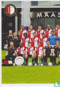 Feyenoord: groepsfoto links