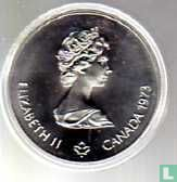 "Canada 5 dollars 1973 ""XXI Olympics in Montreal - sailboats ahead of Kingston"""