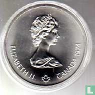"Canada 10 dollars 1974 ""XXI Olympics in Montreal - Temple of Zeus"""