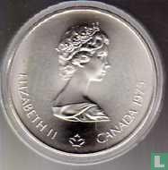 "Canada 10 dollars 1975 ""XXI Olympics in Montreal - canoeing"""