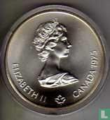 "Canada 5 dollars 1975 ""XXI Olympics in Montreal - women's javelin"""