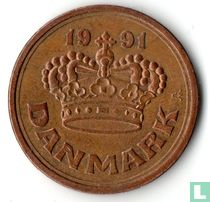 Denemarken 50 øre 1991