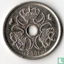 Denemarken 1 krone 2001