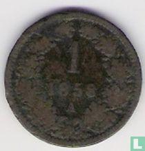 Austria 1 kreuzer 1858 (A)