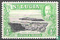 Landschaften von St. Lucia