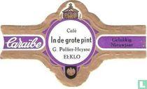 Café In de grote pnit G.Pollier-Heysse Eeklo - Caraïbe - Gelukkig Nieuwjaar