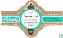Café Brouwershof A. Deneckere- Vandenbroucke Esen - Caraïbe - Roeselarestr. 13 Tel. 051-51310