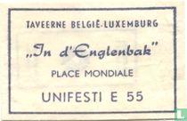 """Taveerne Belgié Luxemburg """"In d'Englenbak"""""""