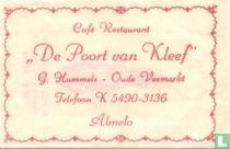 """Café Restaurant """"De Poort van Kleef"""""""