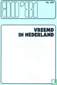 Vreemd in Nederland