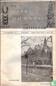 Uw weekjournaal voor Amsterdam 1