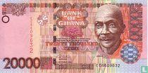 Ghana 20.000 Cedis 2002