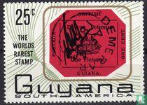 De zeldzaamste postzegel ter wereld