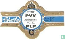 Stemt PVV Aelbrecht Fr. Votez PLP - Caraïbe - Stemt PVV Votez PLP