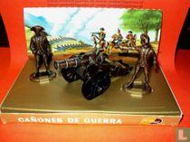 Soldaten van Napoleon Diorama