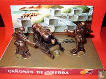 Spaanse Ridders Diorama