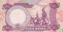 Nigeria 5 Naira ND (1984-) P24e