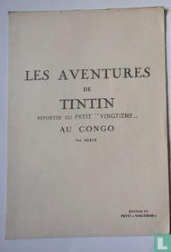 Losse katernen Tintin au Congo