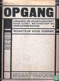 Opgang, maart 1926