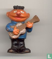 Ernie with guitar