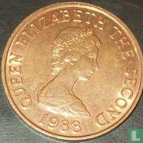 Jersey 2 pence 1988